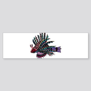 TROPICAL FISH {2} Sticker (Bumper)