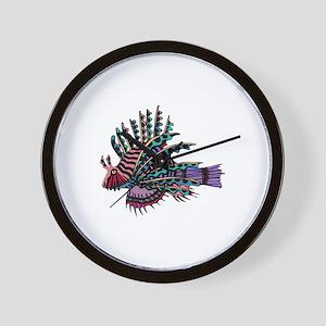 TROPICAL FISH {2} Wall Clock
