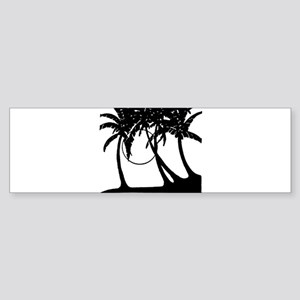 TROPICAL {4} Sticker (Bumper)