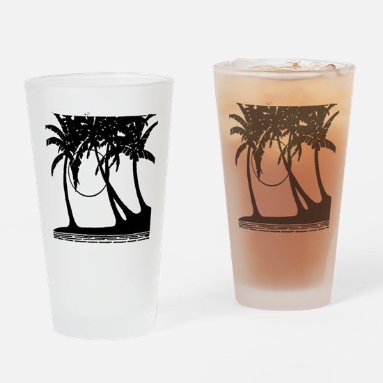 TROPICAL {4} Drinking Glass