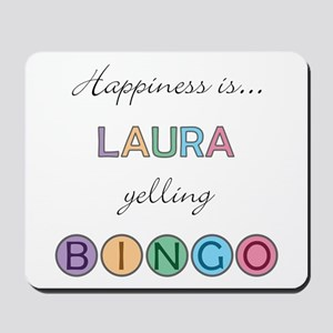 Laura BINGO Mousepad