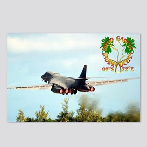 B-1 Take Off #2 Postcards (Package of 8)