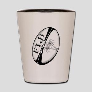Fiji Rugby Ball Shot Glass