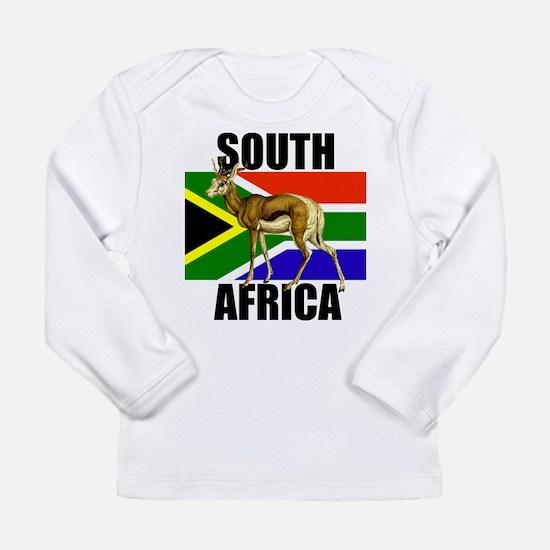 South Africa Springbok Long Sleeve Infant T-Shirt