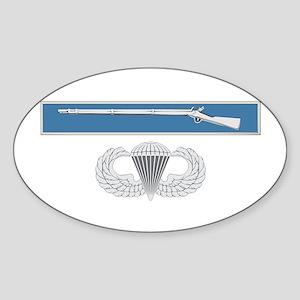 EIB Airborne Sticker (Oval)