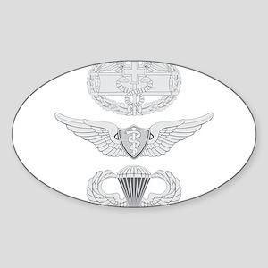 CFMB Flight Surgeon Airborne Sticker (Oval)