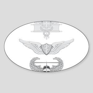 EFMB Flight Surgeon Air Assault Sticker (Oval)