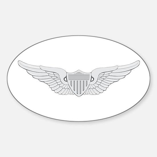 Aviator Sticker (Oval)