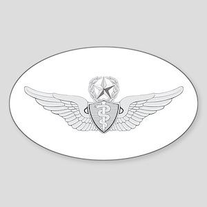 Master Flight Surgeon Sticker (Oval)