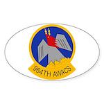 964th AWACS Sticker (Oval)