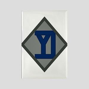 26th Infantry Yankee Div Rectangle Magnet