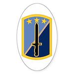 170th Infantry BCT Sticker (Oval)