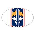 171st Infantry Sticker (Oval)