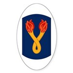 196th Light Infantry Bde Sticker (Oval)