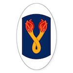 196th Light Infantry Bde Sticker (Oval)