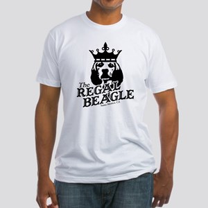 Regal Beagle Fitted T-Shirt