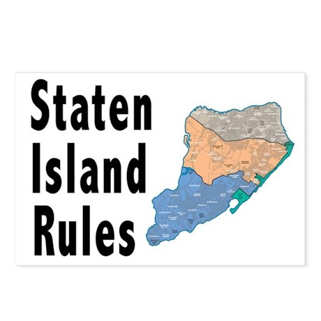 Staten Island Rules Postcards (Package of 8)