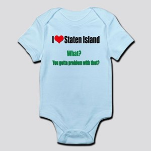 Guido baby clothes accessories cafepress you got a problem with that infant bodysuit negle Images