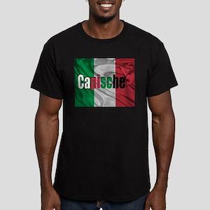 Capische? Men's Fitted T-Shirt (dark)