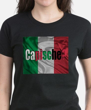 Capische? Women's Dark T-Shirt