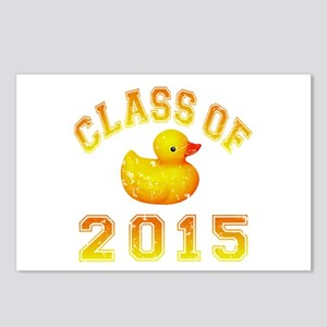 Class Of 2015 Rubber Duckie Postcards (Package of