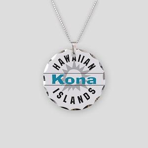 Kona Hawaii Necklace Circle Charm
