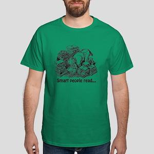 Smart People Read Dark T-Shirt
