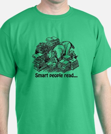 Smart People Read T-Shirt