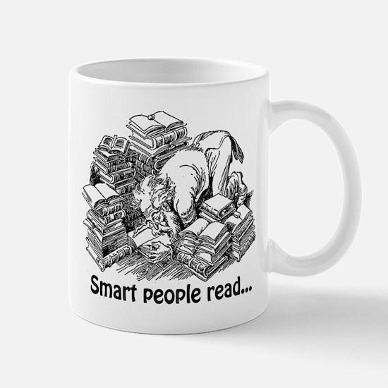Smart People Read Mug