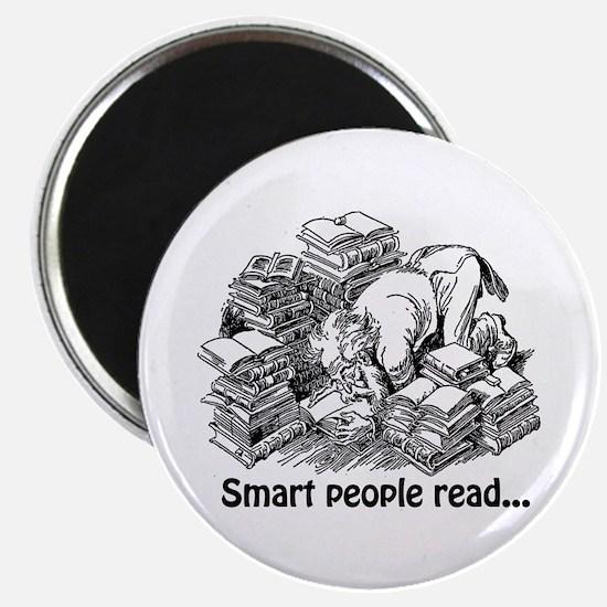Smart People Read Magnet