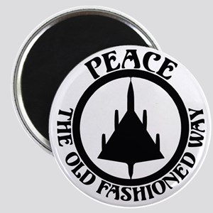 "Peace via B-58 2.25"" Magnet (10 pack)"