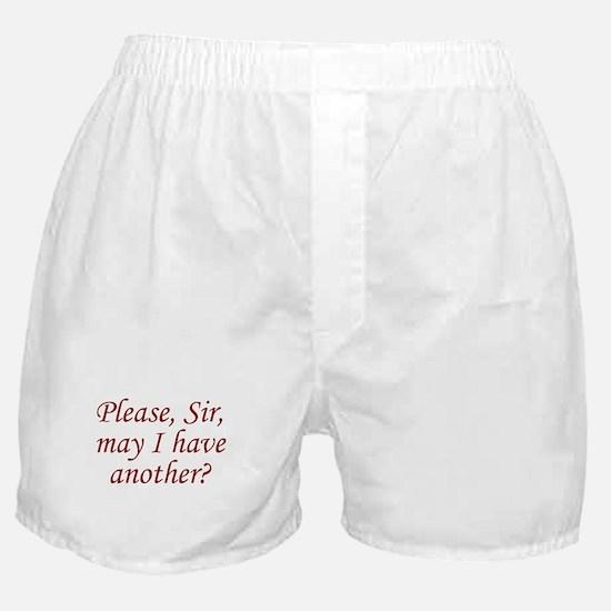 Please, Sir Boxer Shorts