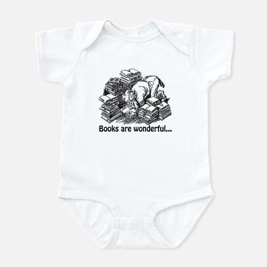 Books Are Wonderful Infant Bodysuit