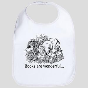 Books Are Wonderful Bib