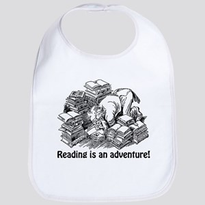 Reading is an Adventure Bib