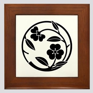 Kawari katabami edamaru Framed Tile