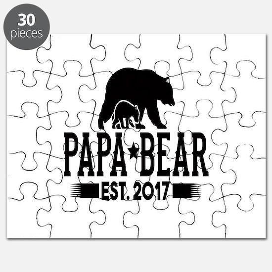 Papa Bear Est. 2017 Puzzle