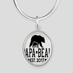 Papa Bear Est. 2017 Necklaces