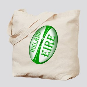 Irish Rugby Ball Tote Bag