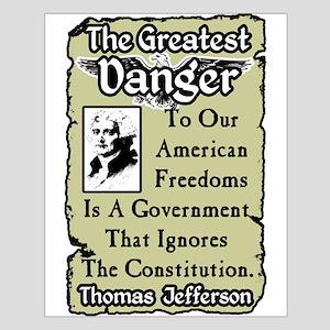 """Jefferson: The Greatest Danger"" Poster"