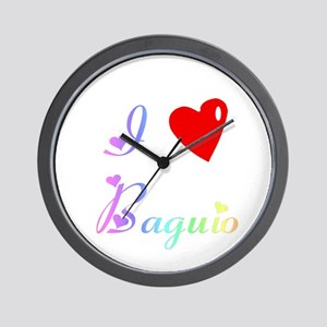 I Love Baguio Gifts Wall Clock