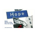 Autism Recovery Hope, 38.5 x 24.5 Wall Peel