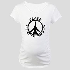 FB-111 Peace Plane Maternity T-Shirt