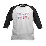 Yoga Buzz Kids Baseball Jersey