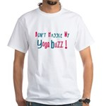 Yoga Buzz White T-Shirt