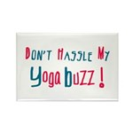 Yoga Buzz Rectangle Magnet (100 pack)