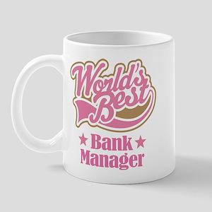 Bank Manager Gift (World's Best) Mug