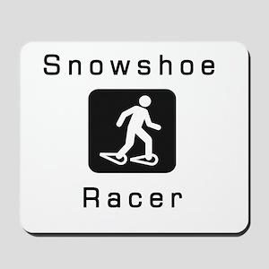 Snowshoe Racer Mousepad