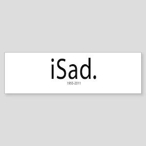 Steve Jobs 1955-2011 Sticker (Bumper)