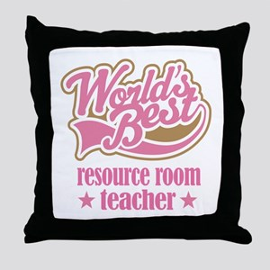 Resource Room Teacher Gift Throw Pillow